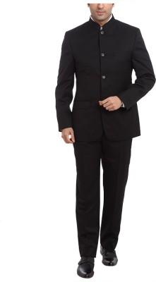 Park Avenue Single Breasted Solid Men's Suit