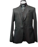 Red Hoover Men's Single Breasted Coat