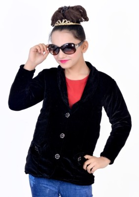 Kabeer Girl's Single Breasted Pea Coat