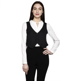 Today Fashion Solid Women's Waistcoat