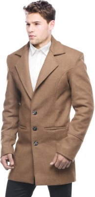 Sobre Estilo Mens Single Breasted Duffle Coat