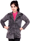 Kabeer Girls Single Breasted Coat