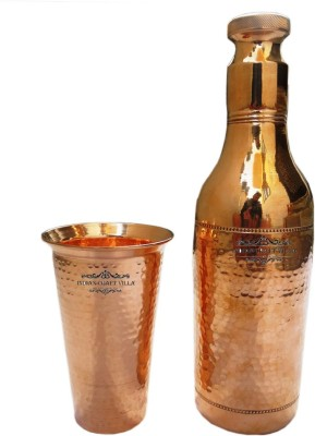 Indian Craft Villa 2200 ml Copper Cocktail Shaker