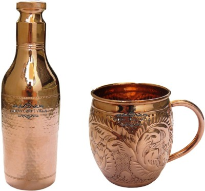 Indian Craft Villa 2170 ml Copper Cocktail Shaker