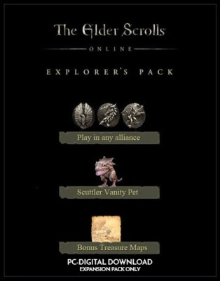 The Elder Scrolls Online: Tamriel Unlimited + Explorers Pack(Digital Code Only - for PC)