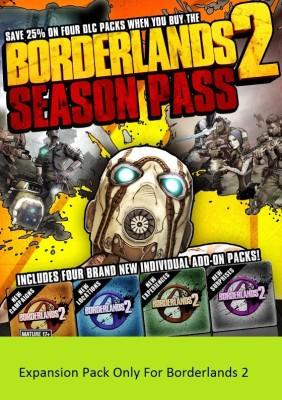Borderlands 2 - Season Pass DLC(Digital Code Only - for PC)