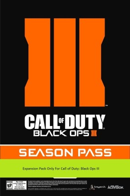 Call of Duty: Black Ops III - Season Pass DLC(Digital Code Only - for PC)