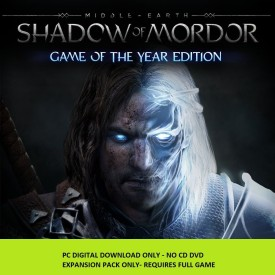 Middle-earth: Shadow of Mordor Game of the Year Edition Upgrade with Expansion Pack Only