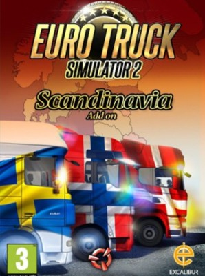 Euro Truck Simulator 2 - Scandinavia with Game and Expansion Pack