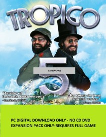 Tropico 5 - Espionage with Expansion Pack Only