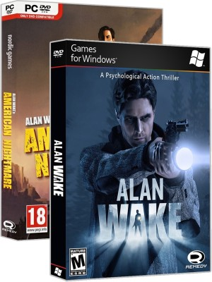 Alan Wake Combo Pack (PC GAME) HD Edition(Digital Code Only - for PC)