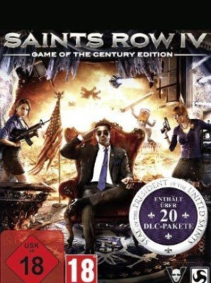 Saints Row Iv: Game Of The Century Edition with Game and Expansion Pack
