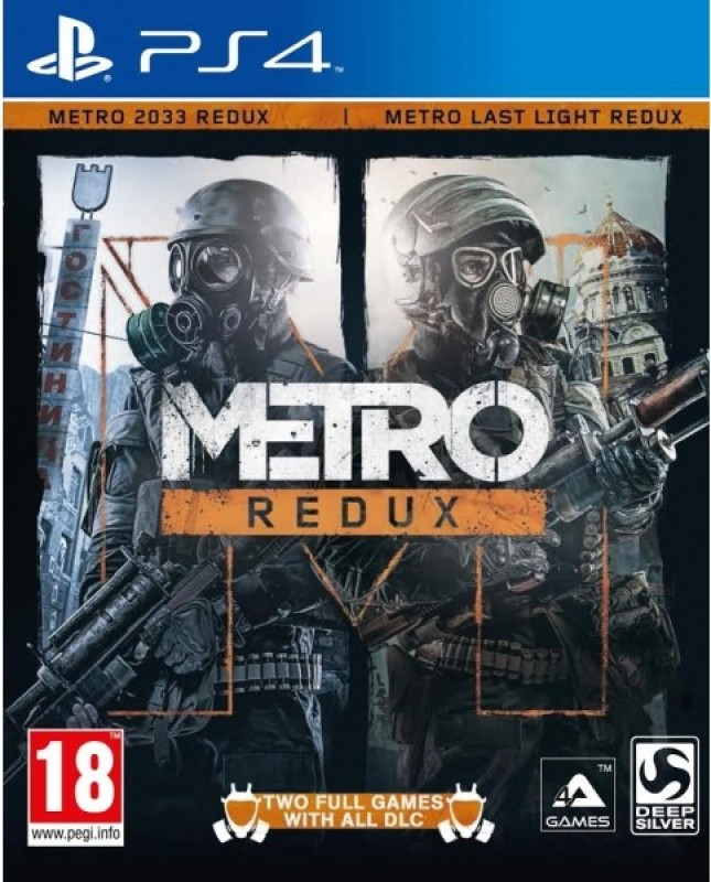 Metro Redux Limited Edition(Digital Code Only - for PS4)
