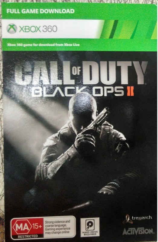 Call of Duty Black Ops 2 Xbox 360 Edition(Digital Code...
