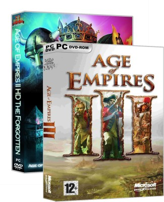 Age of Empires II, III (PC Game) HD Edition(Digital Code Only - for PC)
