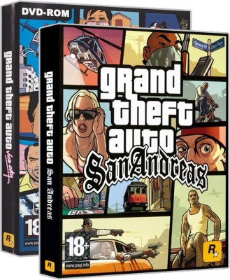Grand Theft Auto - Vice City, San Andreas (PC Game) Combo Pack Limited Edition(Digital Code Only - for PC)