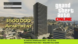 Grand Theft Auto Online: Bull Shark Cash Card - 500.000$ with Expansion Pack Only
