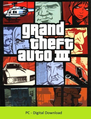Grand Theft Auto 3(Digital Code Only - for PC)