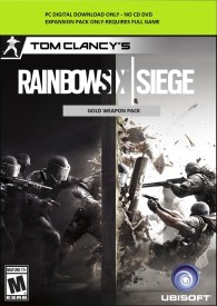 Tom Clancy's Rainbow Six Siege Gold Weapon Pack with Expansion Pack Only