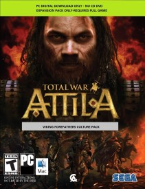 Total War: ATTILA - Viking Forefathers Culture Pack with Expansion Pack Only