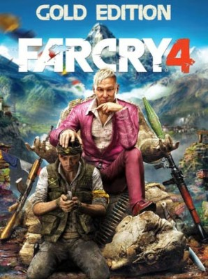 Far Cry 4 Gold + Season Pass Gold Edition with Game and Season Pass