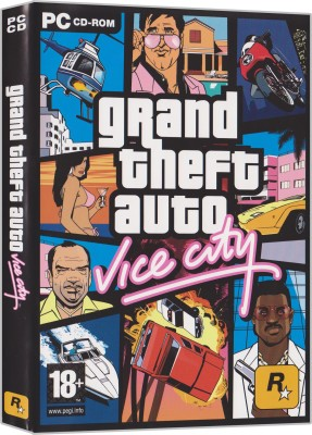 Grand Theft Auto - Vice City (PC GAME) Limited Edition