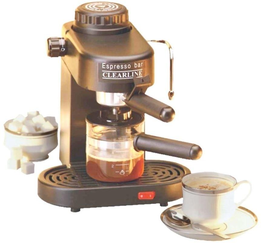 Clearline Appclr004 4 Cups Coffee Maker Black Price In