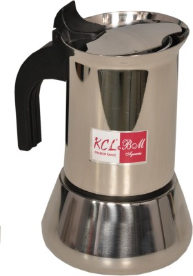 KCL Percolator 4 cups Coffee Maker(Silver)