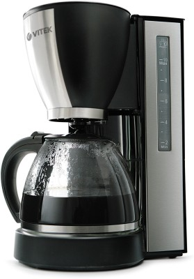 VITEK VT-1509 BK-I 12 cups Coffee Maker(Black & Silver) at flipkart