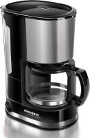 REDMOND RCM-M1507 3 cups Coffee Maker(Black, Metallic)