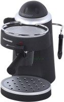 REDMOND RCM-1502 4 cups Coffee Maker(Black, Metallic)