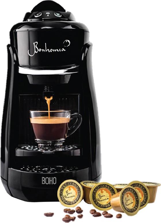 Bonhomia BB01BBF03B 1 cups Coffee Maker(Black)