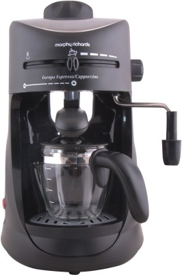 Morphy Richards Europa Espresso / Cappuccino CM 4 Cups Coffee Maker
