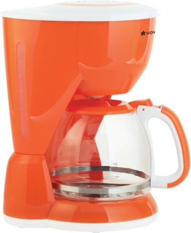 Wonderchef 63151724 10 cups Coffee Maker(Orange)