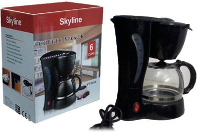 Skyline VTL-7014 12 cups Coffee Maker(Black)