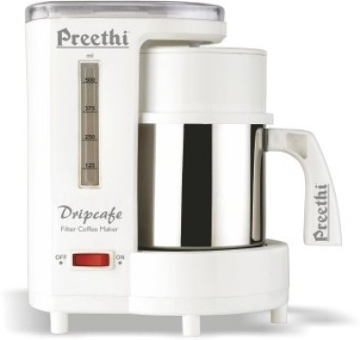 Preethi CM208 6 cups Coffee Maker(White)