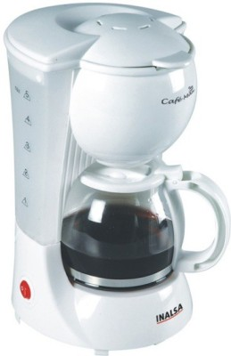 Inalsa Cafe Max 4 cups Coffee Maker(White)