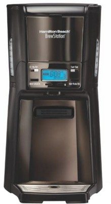 Hamilton Beach BrewStation Summit Black Ice 48467 12 Cups Coffee Maker