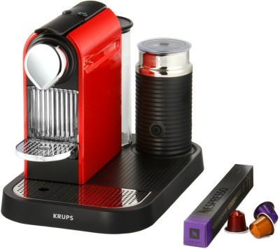 Nespresso Krups CitiZ&Milk Titanium (Xn730t40) Coffee Machine