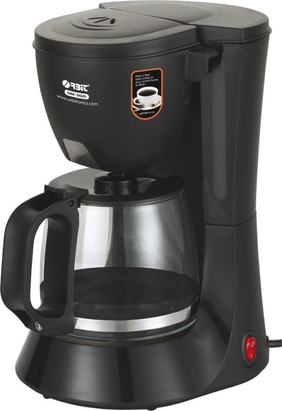 Orbit CM-3021 4 cups Coffee Maker(Black)