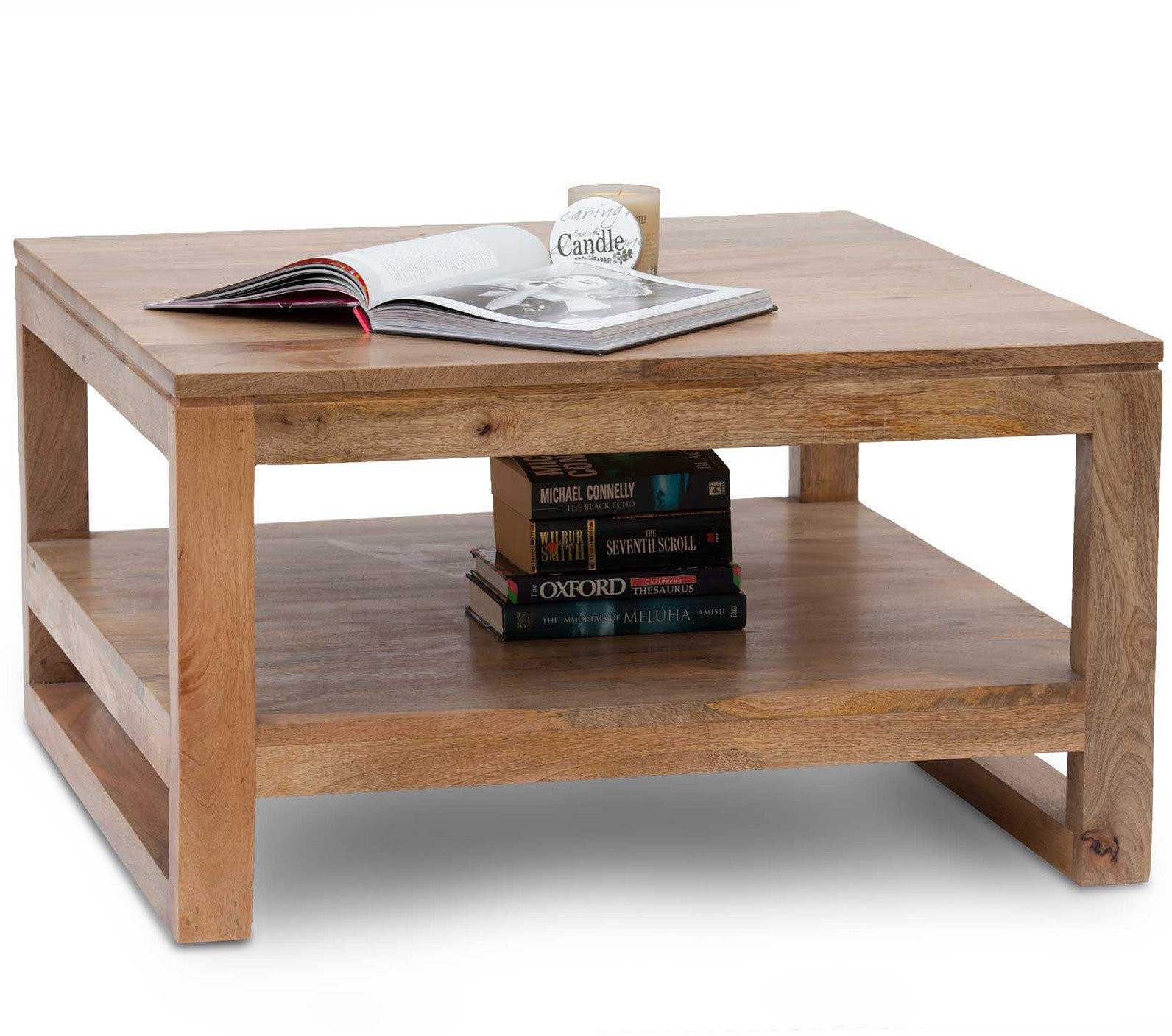 View Amaani Furniture's Solid Wood Coffee Table(Finish Color - Natural Wood) Furniture (Amaani Furniture's)