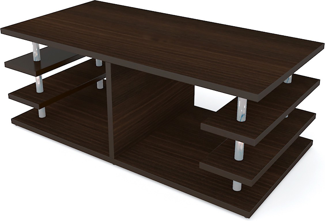 View UNiCOS Engineered Wood Coffee Table(Finish Color - Midnight oak) Furniture (UNiCOS)