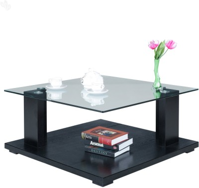 Royal Oak Olive Engineered Wood Coffee Table(Finish Color - Black)