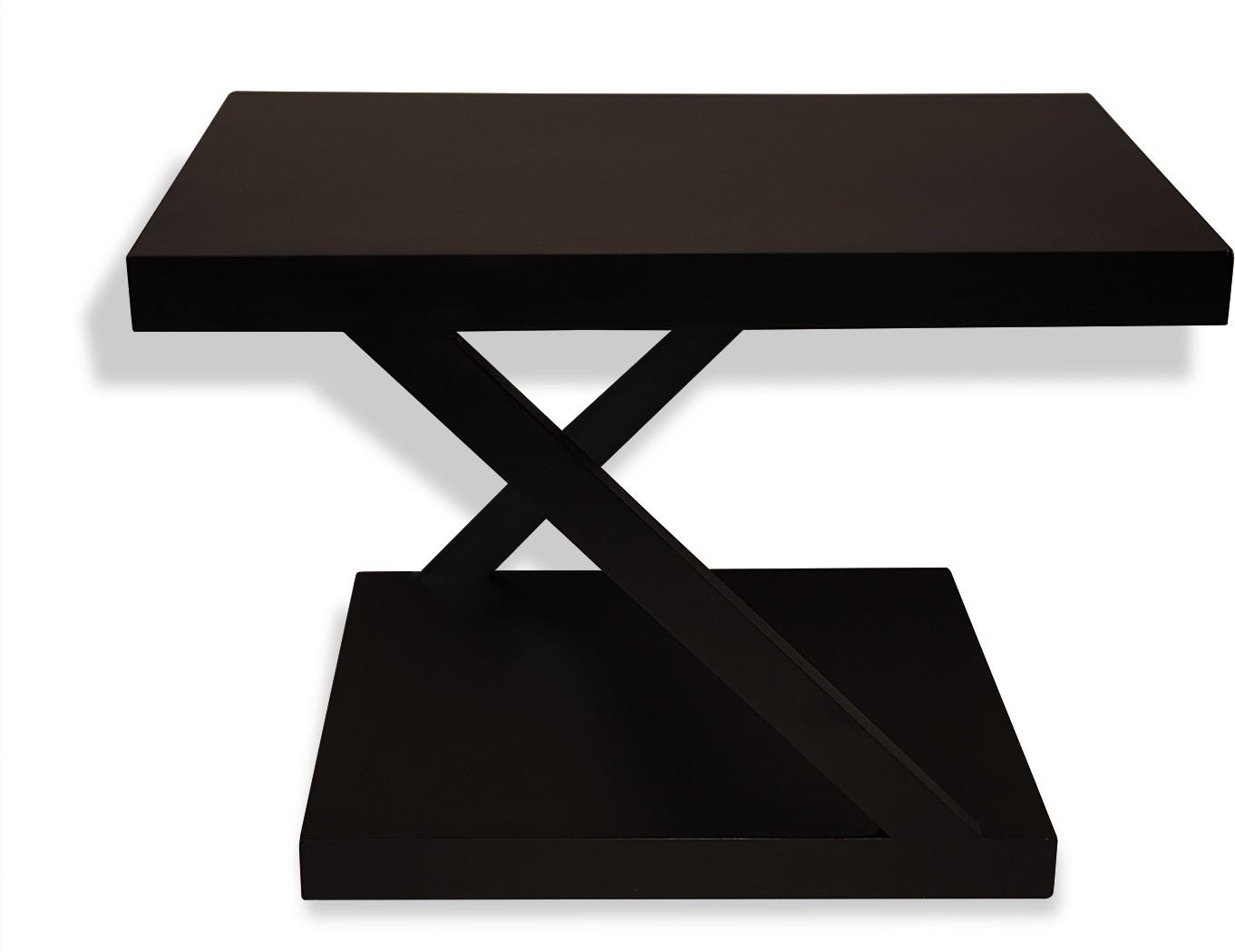 View Netwood Designer Solid Wood Coffee Table(Finish Color - Black Matte) Furniture (Netwood Designer)