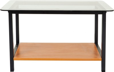 FurnitureKraft Glass Coffee Table