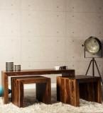 HomeEdge Solid Wood Coffee Table (Finish...
