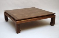 Ringabell Solid Wood Coffee Table(Finish Color - Walnut)