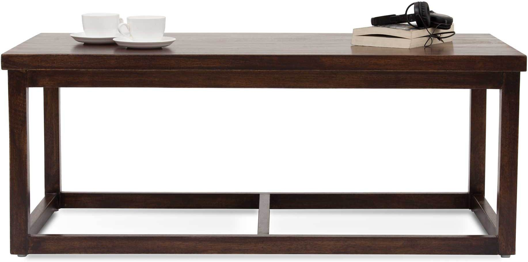 View TheArmchair Cotsworld Solid Wood Coffee Table(Finish Color - Walnut) Furniture (TheArmChair)
