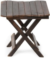 Onlineshoppee CAC Solid Wood Side Table(Finish Color - Brown)
