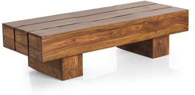 Smart Choice Furniture Rosewood (Sheesham)_JICT06_Matte finish Solid Wood Coffee Table